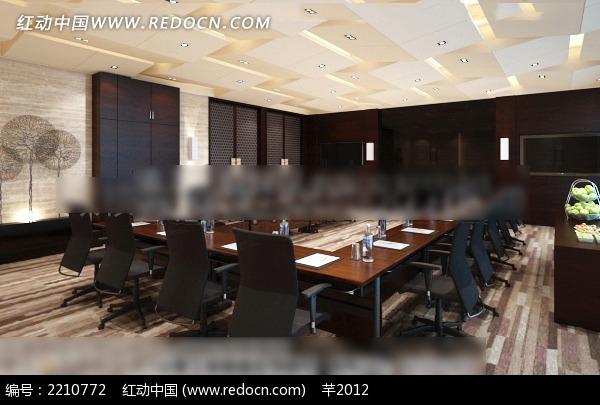 公司会议室效果图