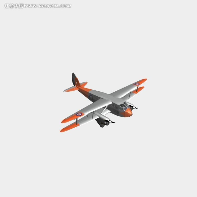 飞机模型3dmax素材免费下载(编号2214800)_红动网