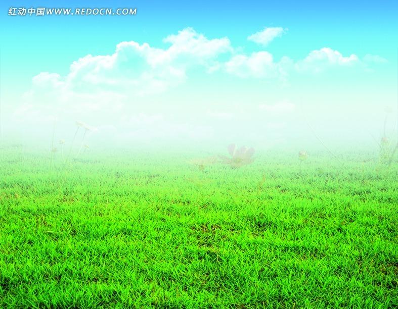 免费素材 psd素材 psd分层素材 风景 蓝天白云草地  请您分享: 素材