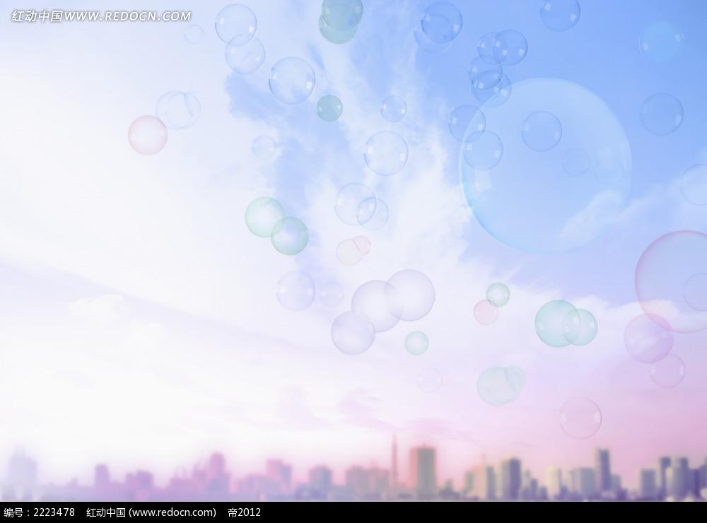 城市天空环保图片素材