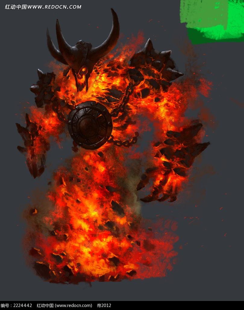 轩辕传奇恶魔人物图片_人物卡通图片_红动手机版