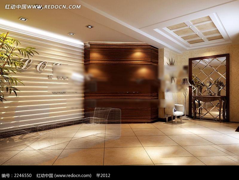 公司3d室内装修设计图