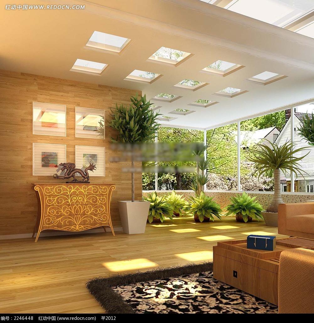 阳光房休闲室效果图片