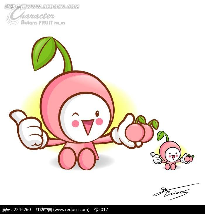 水果q版卡通手绘图片