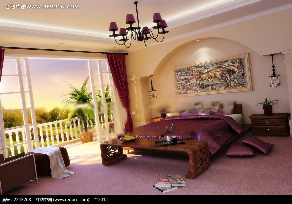 北欧卧室装修效果图图片