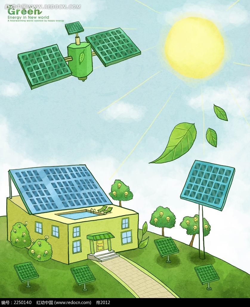 环境保护海报手绘