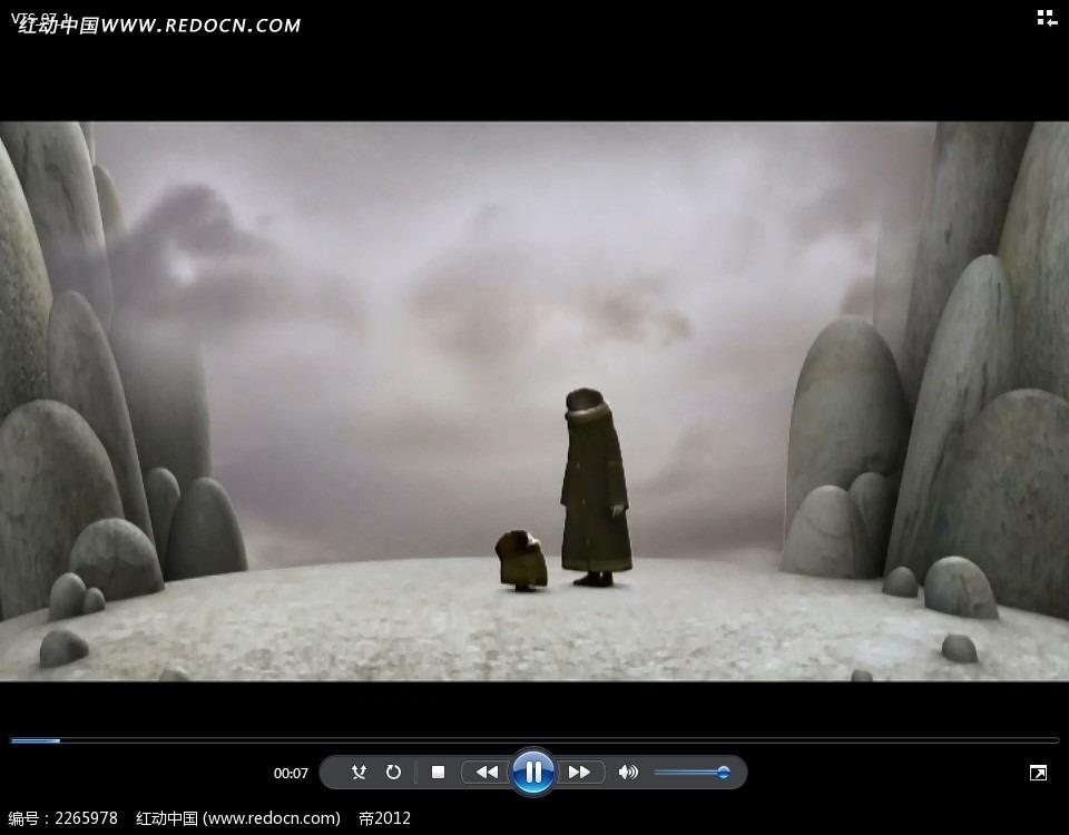 黑衣人大人小孩视频