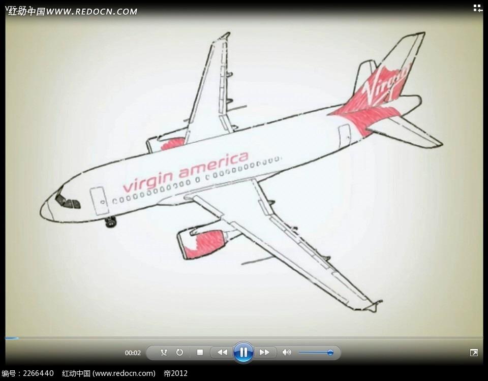 手绘科技动画视频