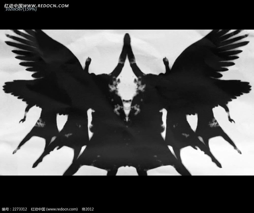 黑色大雁飞翔影子视频mp4素材免费下载 编号2273312 红动网图片