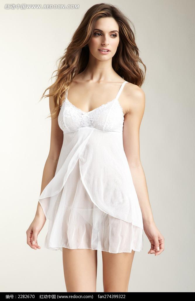 宫装罗裙图片_... 睡裙纯棉白色罗丽丝图片大全