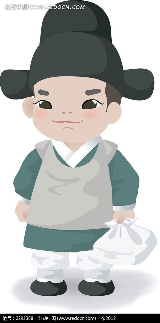 古代韩国官员插图
