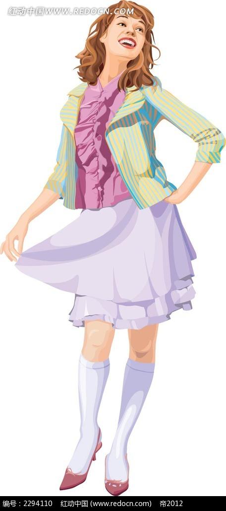 女王的裙摆txt书包_欧洲裙摆少女人物插图