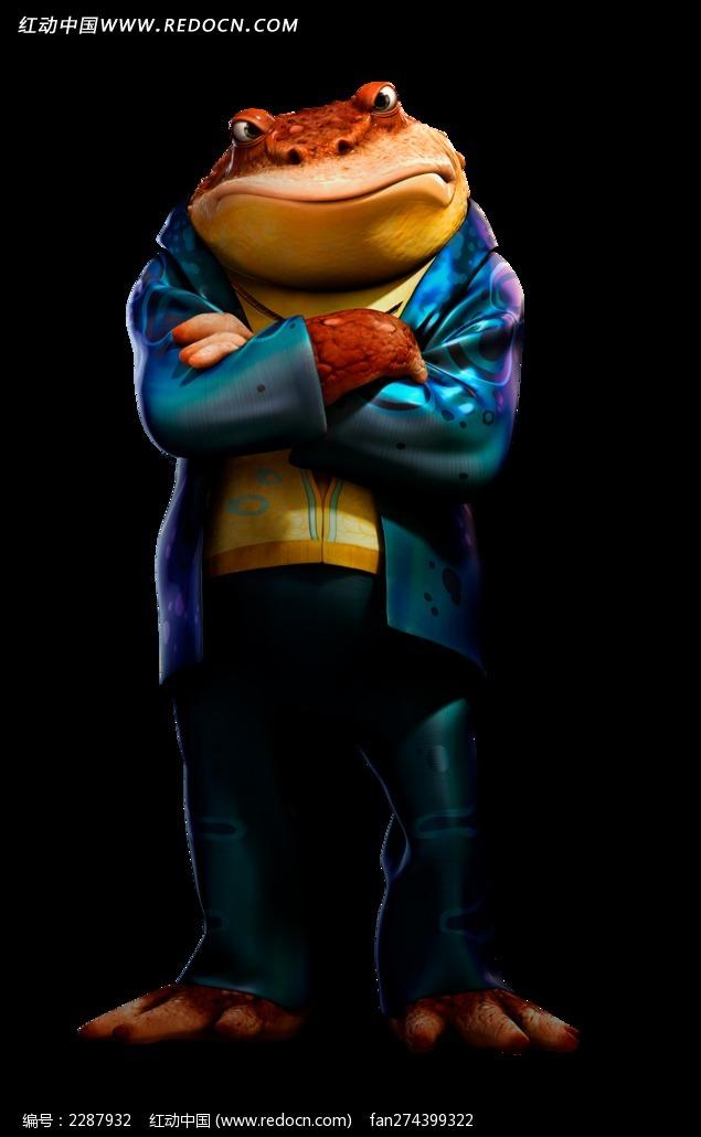 森林战士海报--青蛙人图片