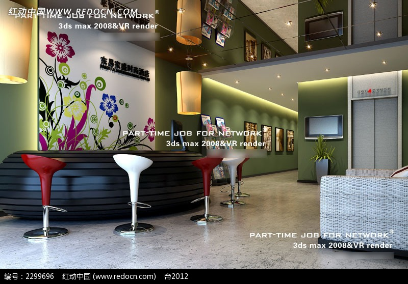 免费素材 3d素材 3d模型 室内设计 公司接待区效果图  请您分享: 素材