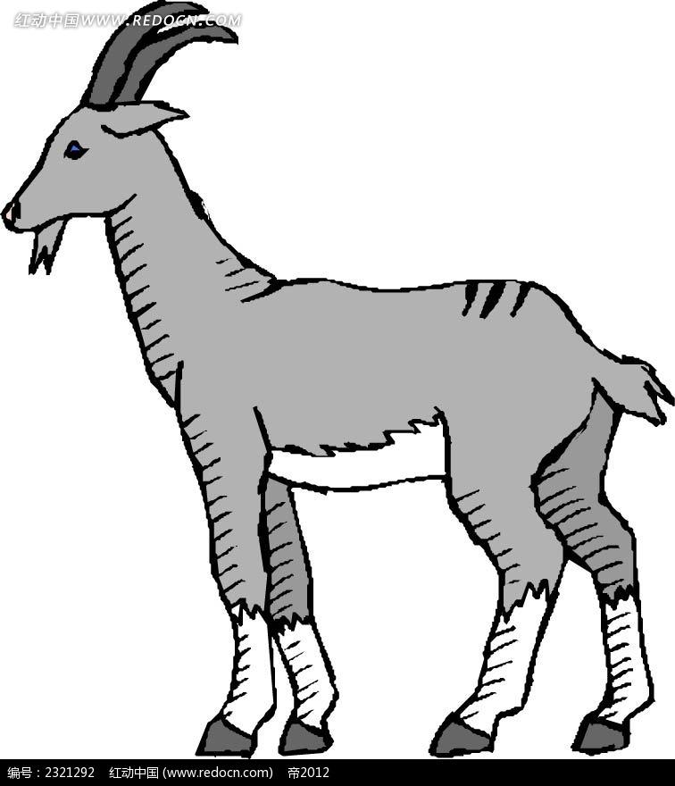 山羊头饰手工制作图片