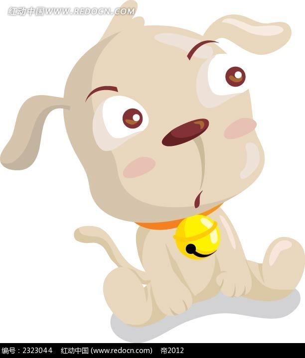可爱小狗手绘画