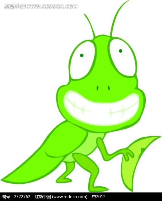 蝗虫手绘图形