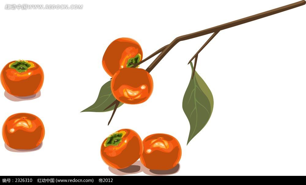 小清新水果手绘边框