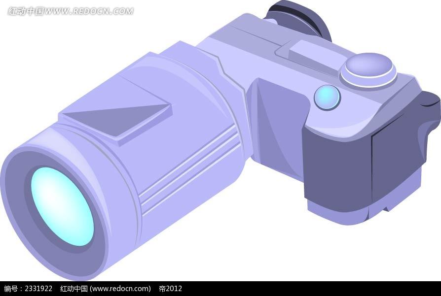 变焦照相机手绘图形