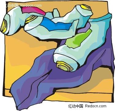 管装水彩颜料手绘画