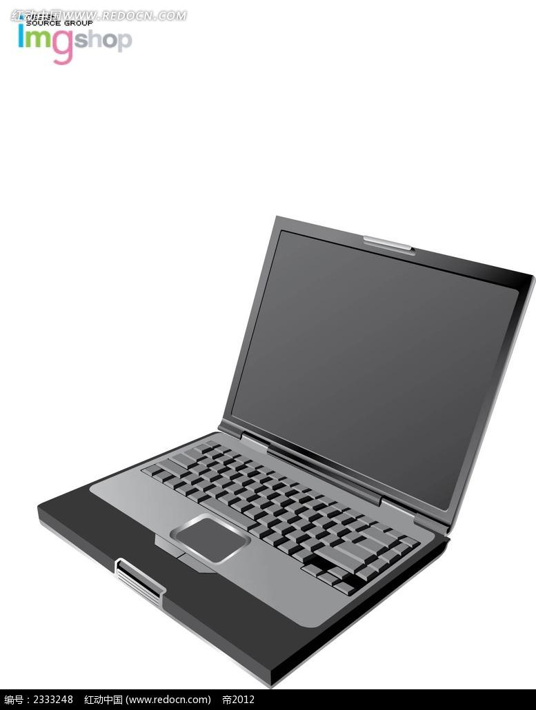 笔记本电脑手绘线描图形