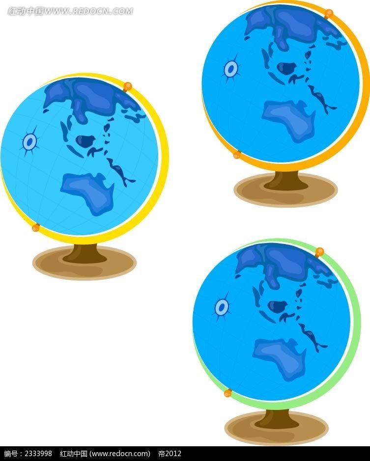 地球仪手绘画