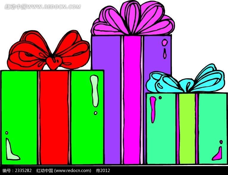 精美手绘礼物盒