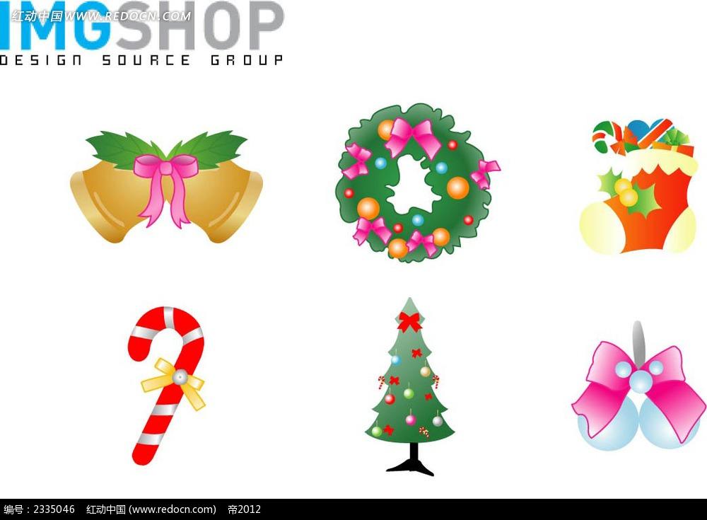 圣诞手绘小图标设计