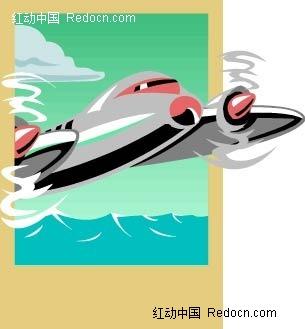 飞机导弹立体画图片