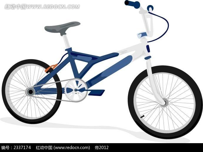 手绘自行车图形图片