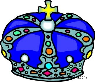 皇冠手绘画图片