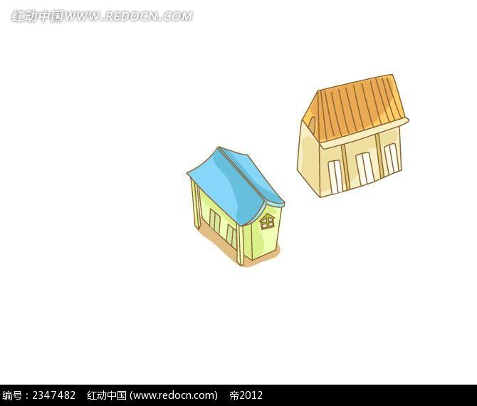 手绘线描巴黎铁塔时尚风景插画_建筑雕塑_红动手机版