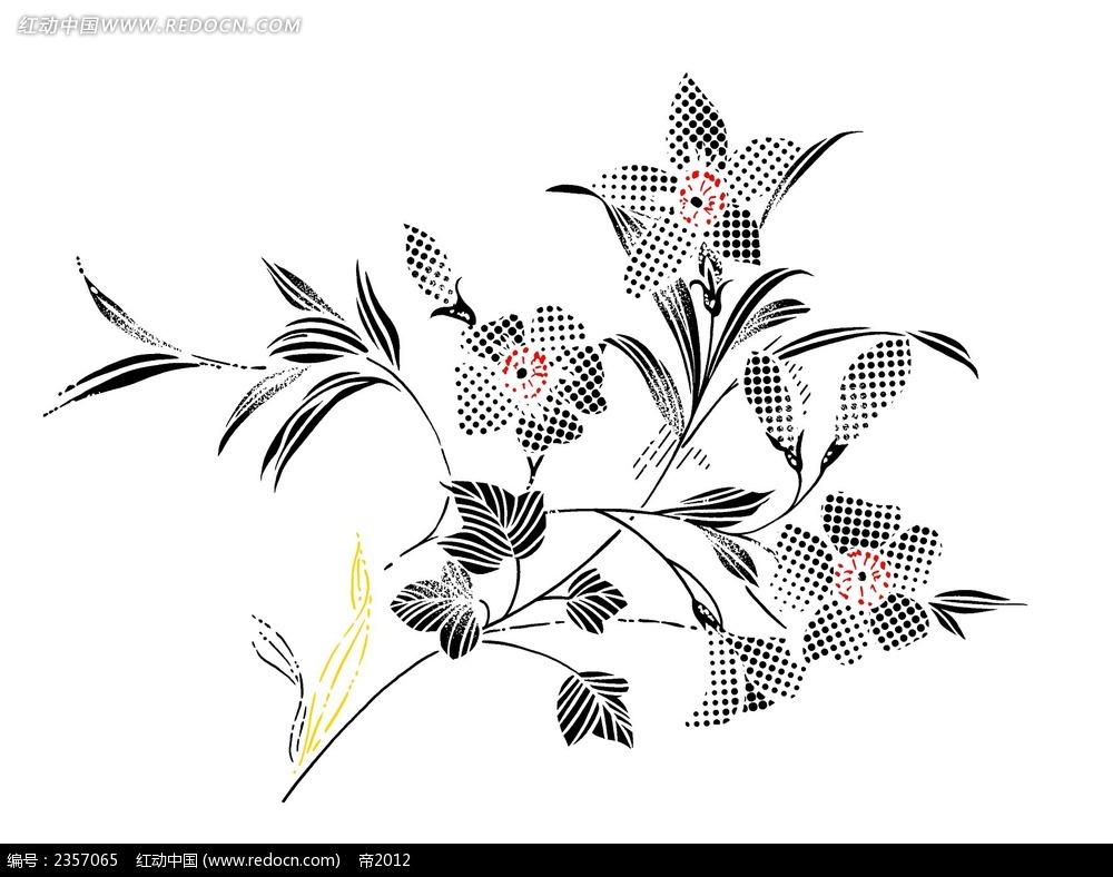 创意手绘花