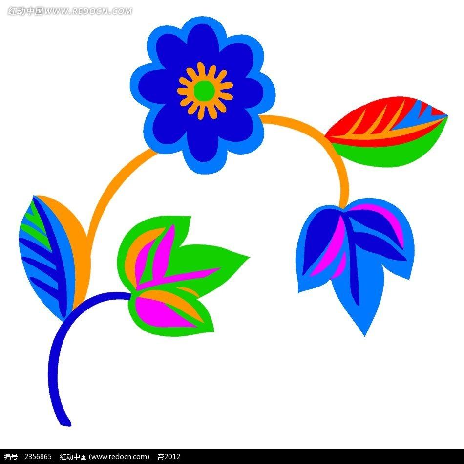 花纹   花纹素材  创意花   简单花绘  纹 创意手绘 花彩色花 花边
