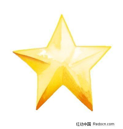 psd花纹边框 花纹花边 > 手绘黄色五角星  手绘 黄色 五角星  星星