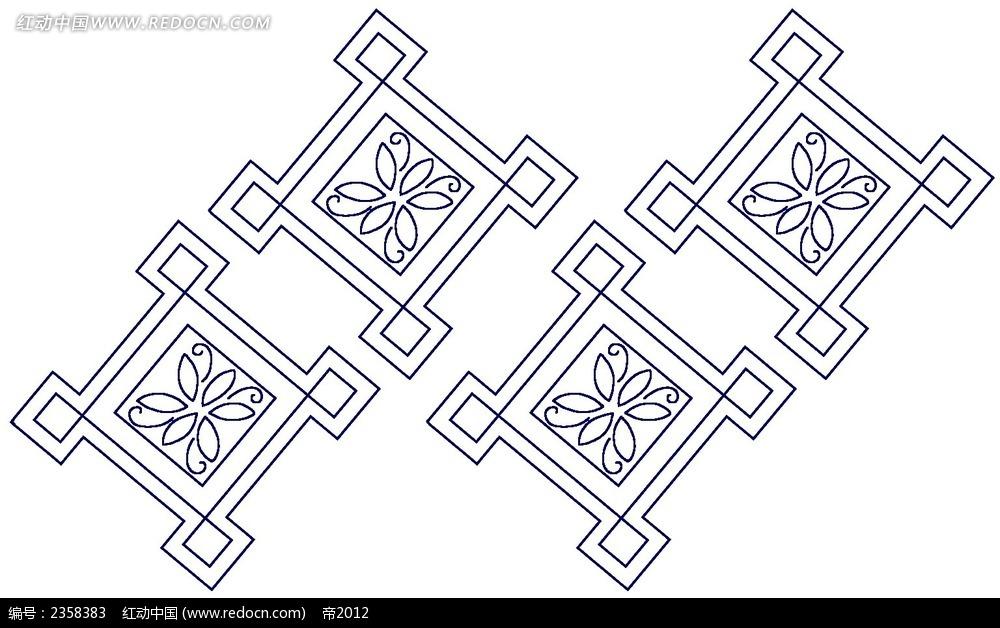 线描格子简笔画装饰花纹素材PSD免费下载 编号2358383 红动网