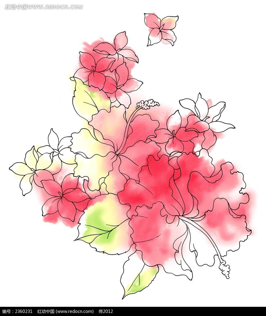 朱瑾水彩手绘画图片