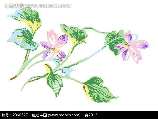 免费素材 psd素材 psd花纹边框 花纹花边 水彩花卉素材