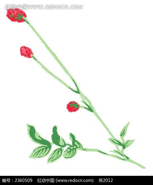 彩铅花卉画图片
