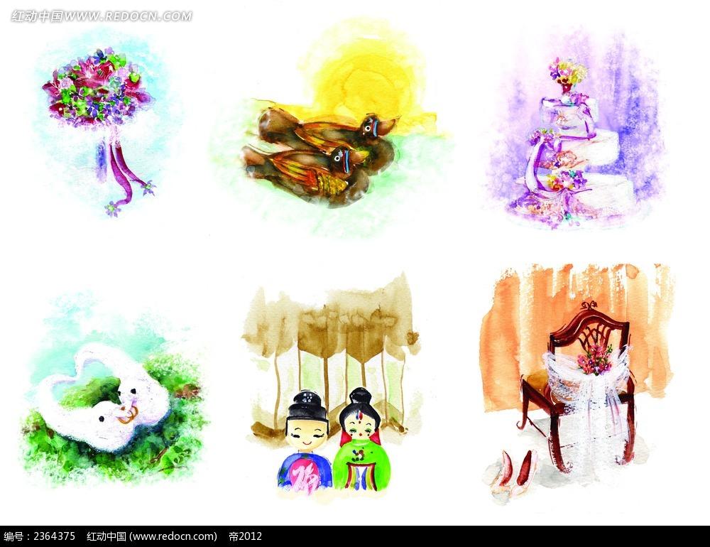 psd花纹边框 花纹花边 > 手绘漫画psd素材  素材 psd 实用 彩色 色彩
