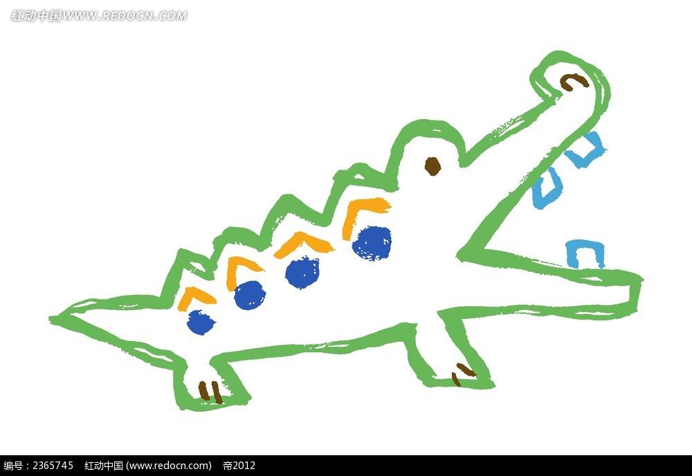 鳄鱼卡通图片大全图片