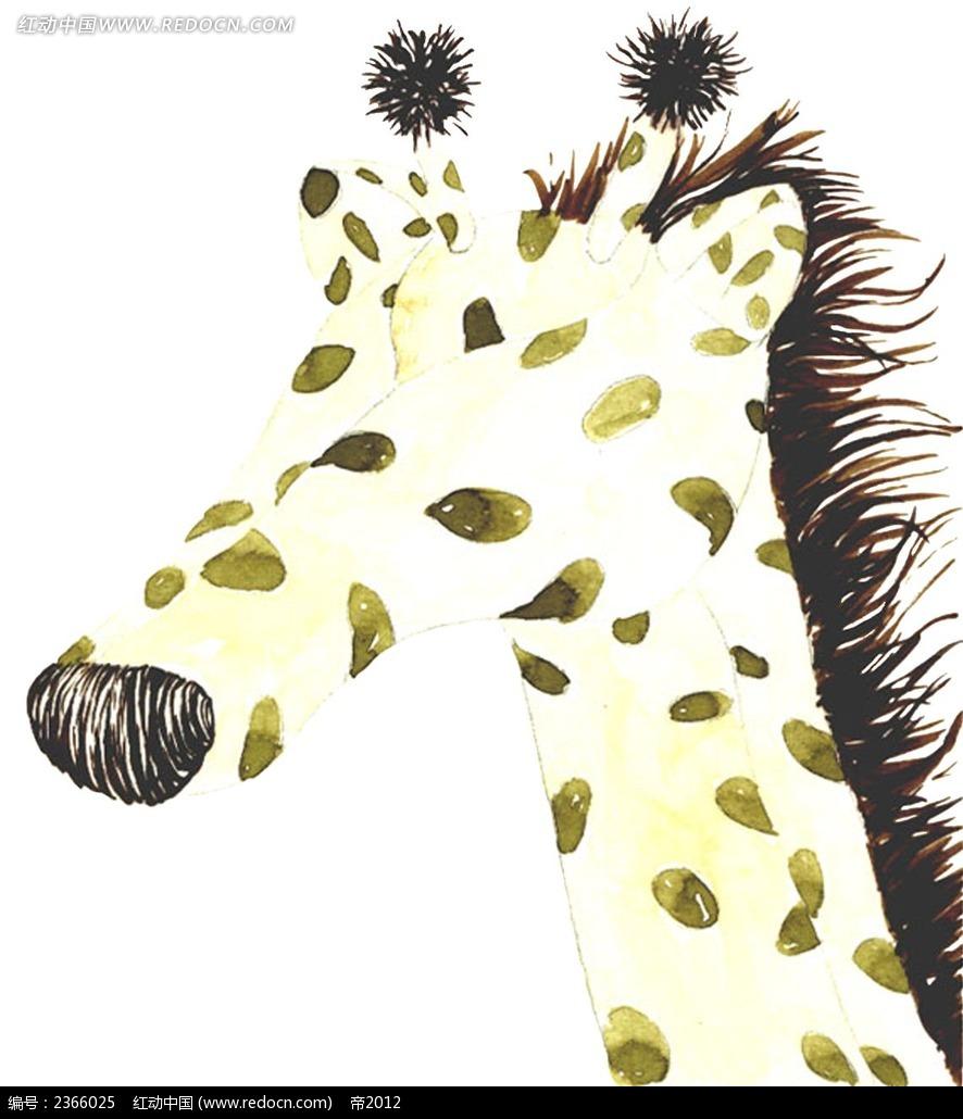 创意树叶平面粘贴画动物