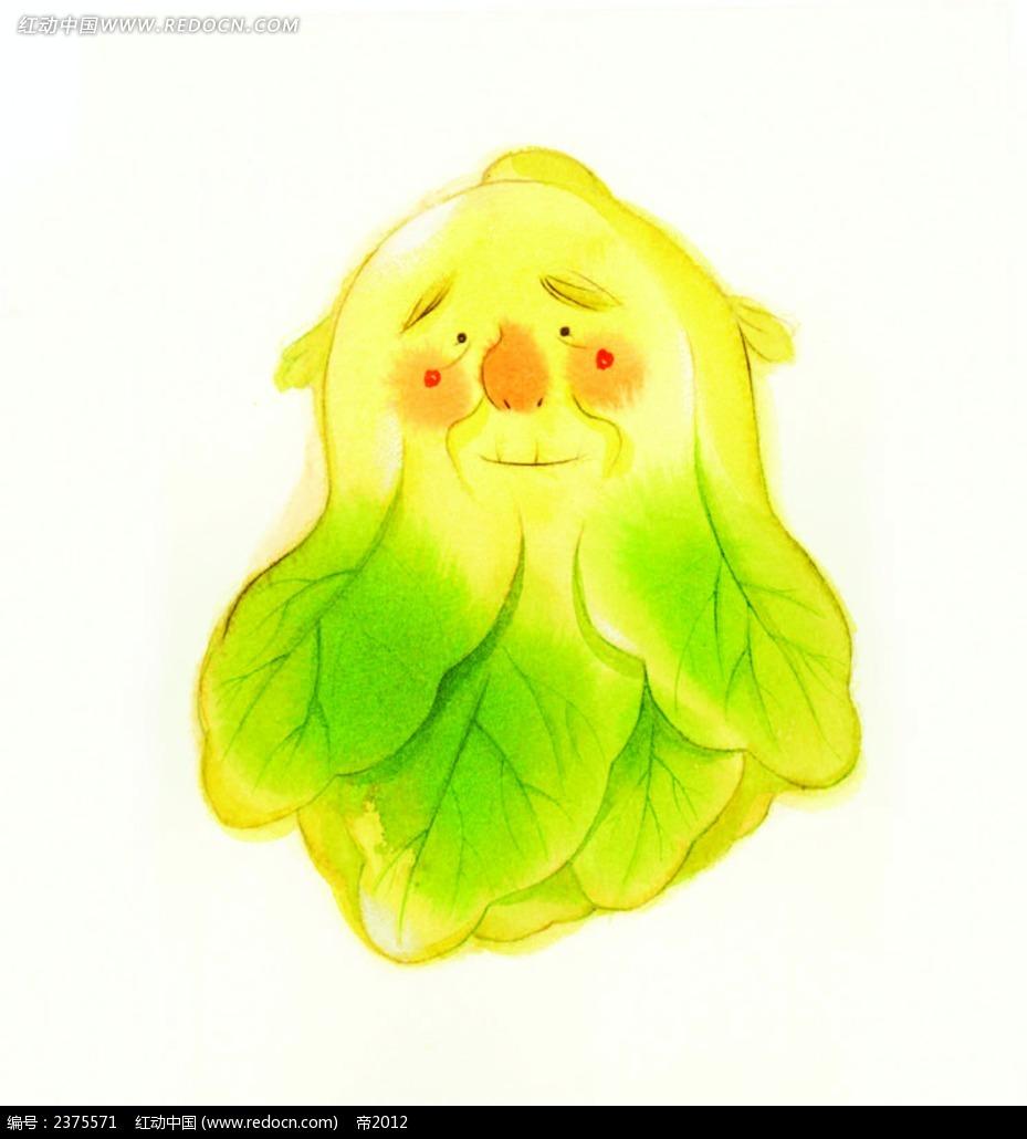 大白菜人物画