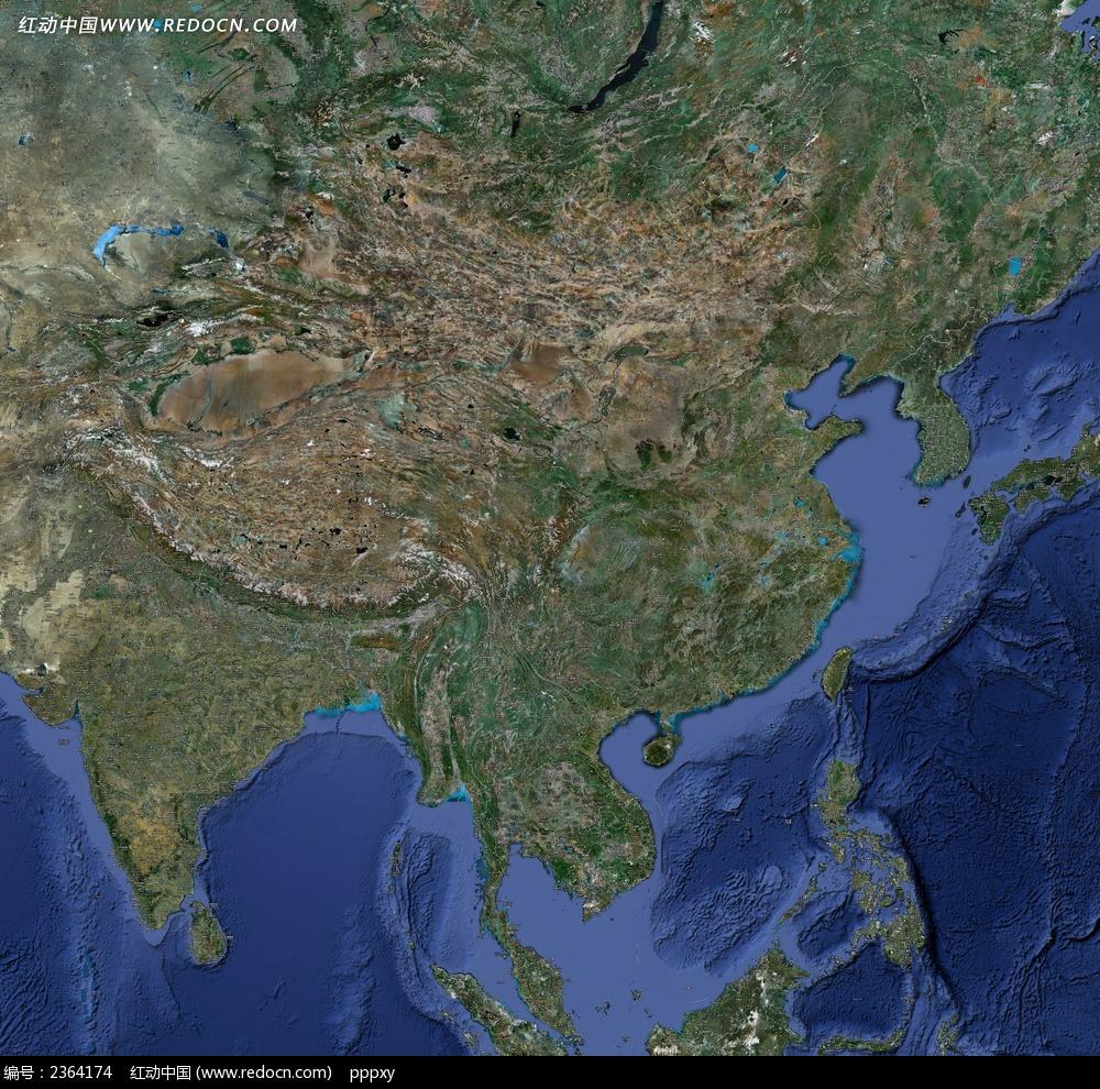 中国卫星图图片_宇宙太空图片