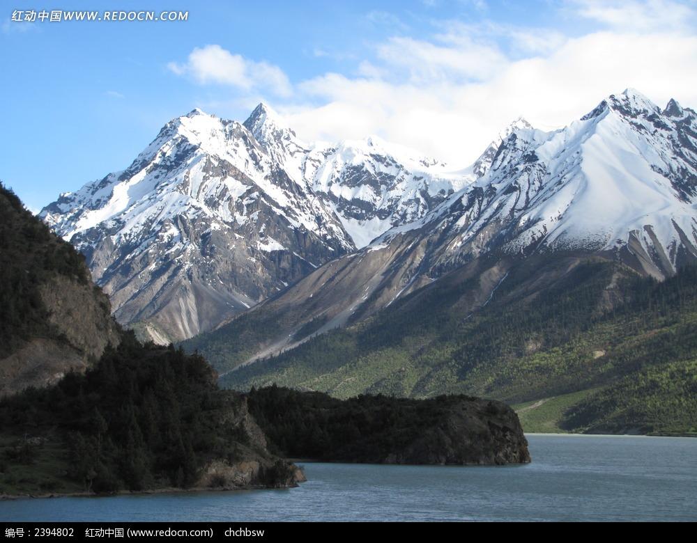 西藏雪山风光