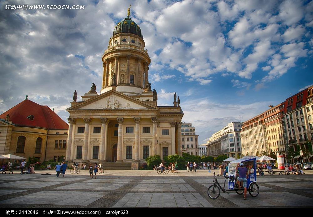 德国柏林御林广场图片