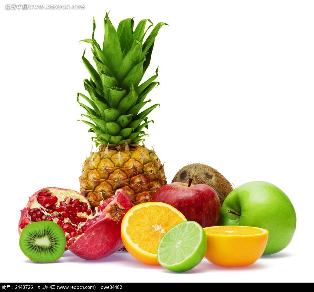 免费素材 图片素材 餐饮美食 水果蔬菜 一堆水果