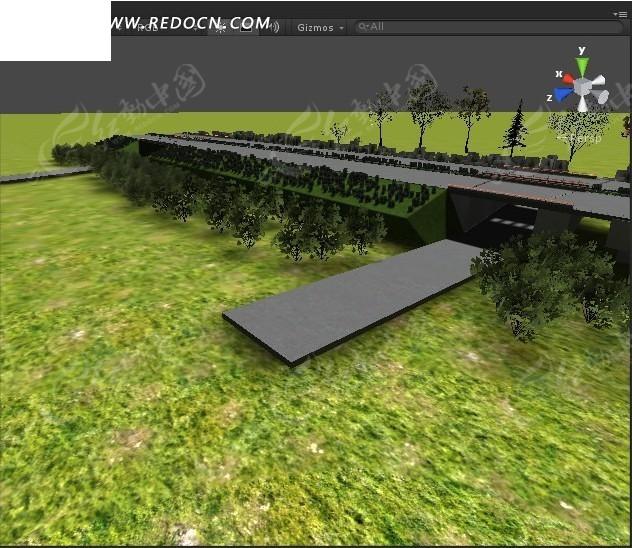 公路max模型3dmax免费下载