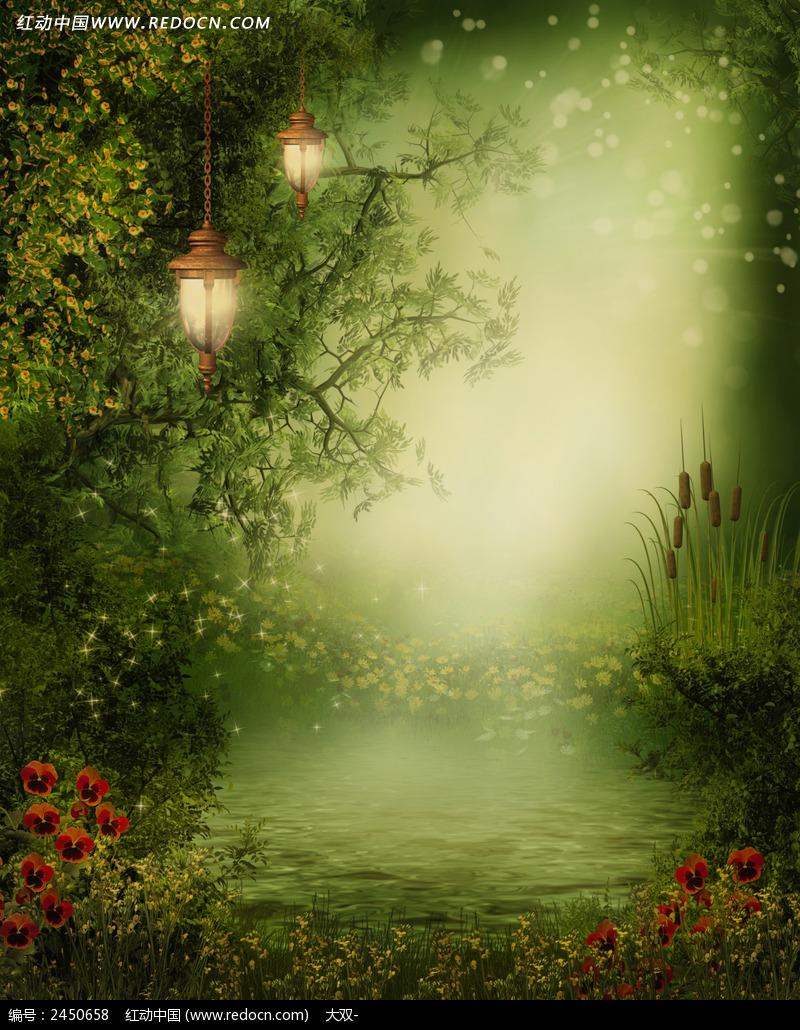 童话树林_花草树木图片