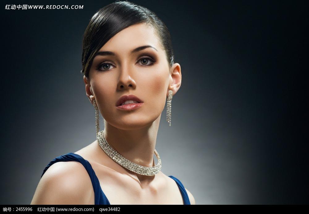 外国女模特图片
